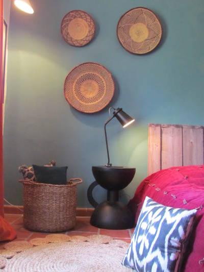Luminaire décoratif dans une chambre