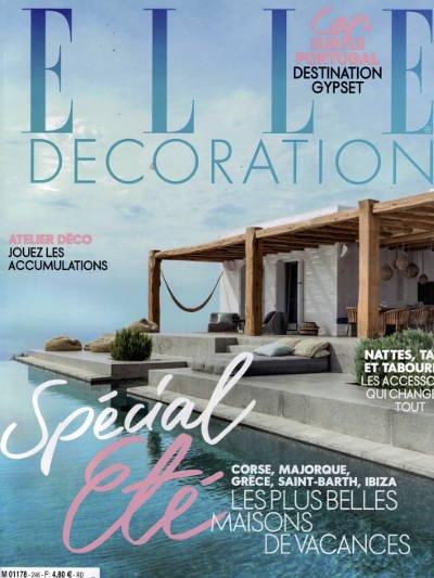 Couverture de magazine Elle Décoration