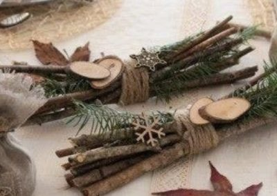 Do-it-yourself Christmas decoration