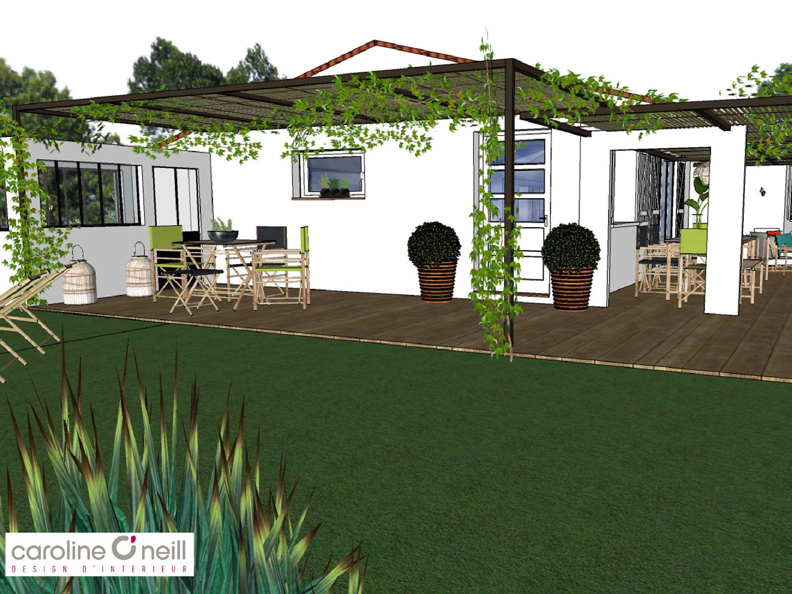 conception d'aménagements extérieurs en Provence