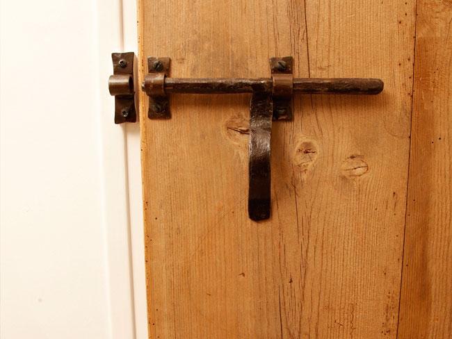 Detail of an antique door