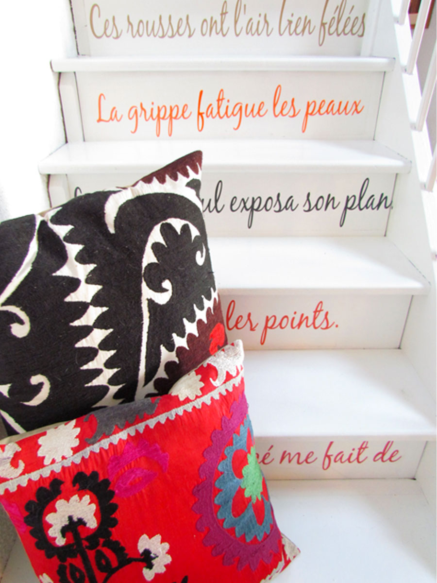 escalier et contrepétries