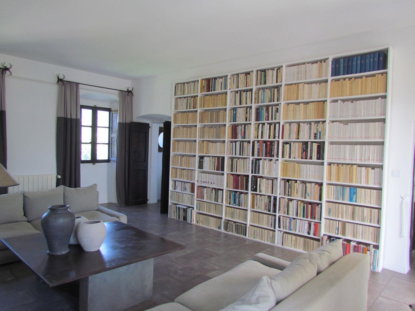 grande bibliothèque maçonnée