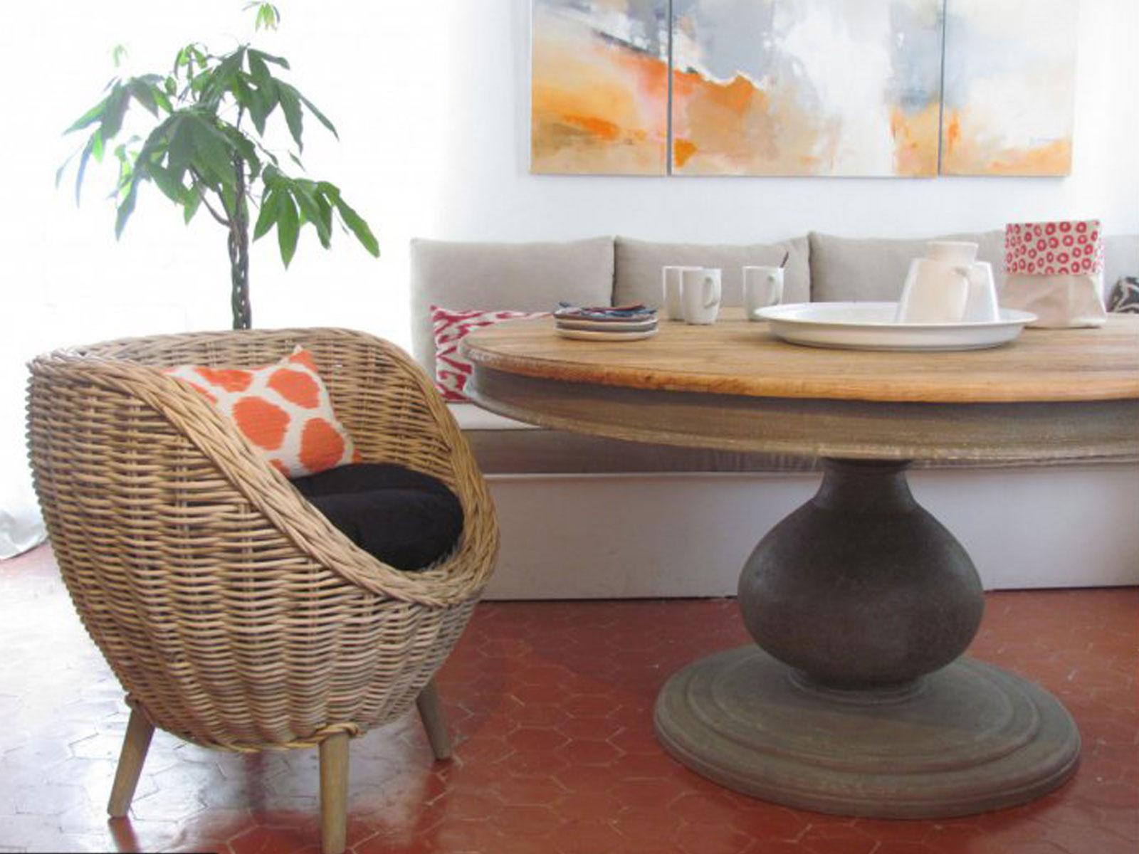 table de repas en orme de récupération