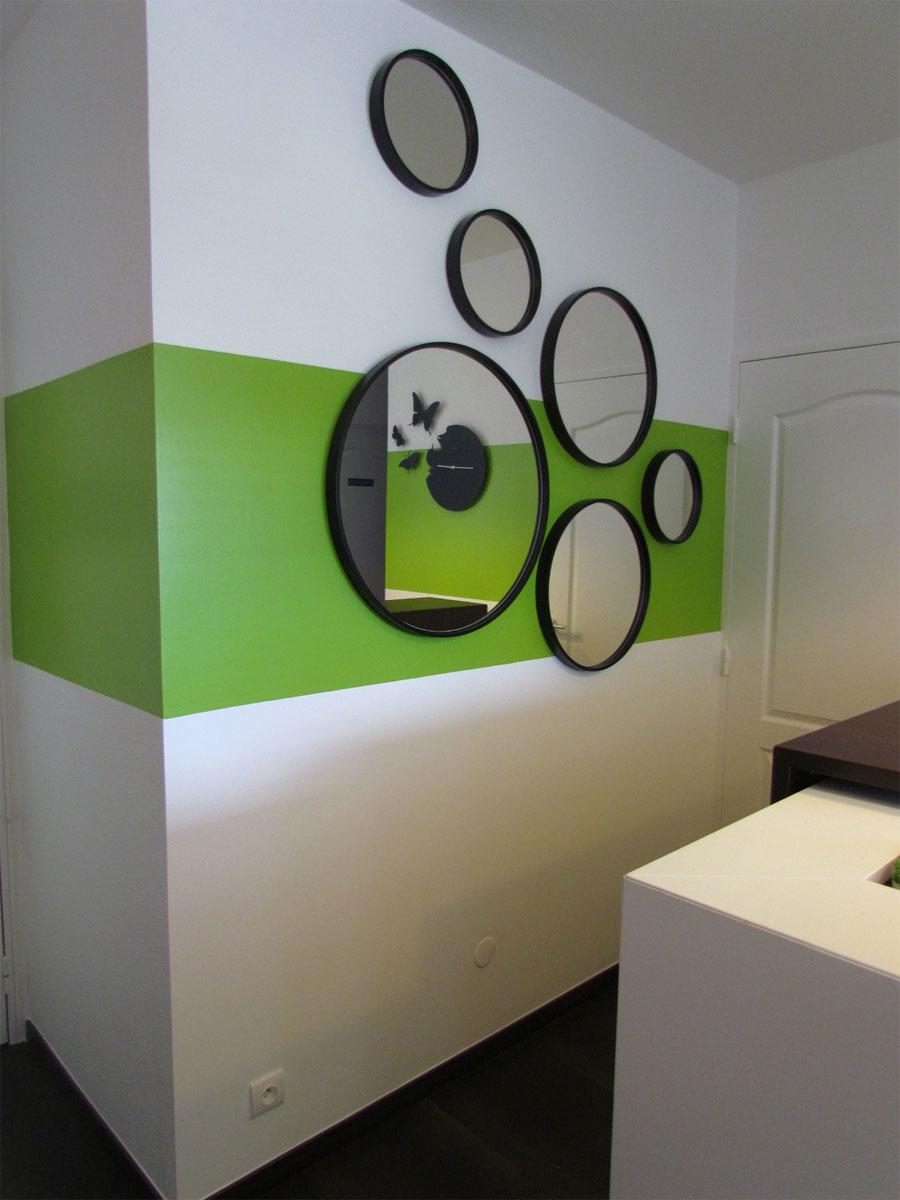 miroirs ronds en métal comme des bulles