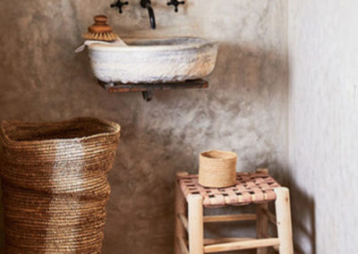 wabi sabi bathroom